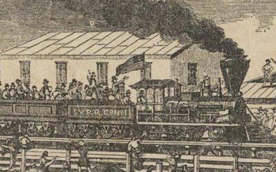 Brighton, a center of Gold Rush excitement
